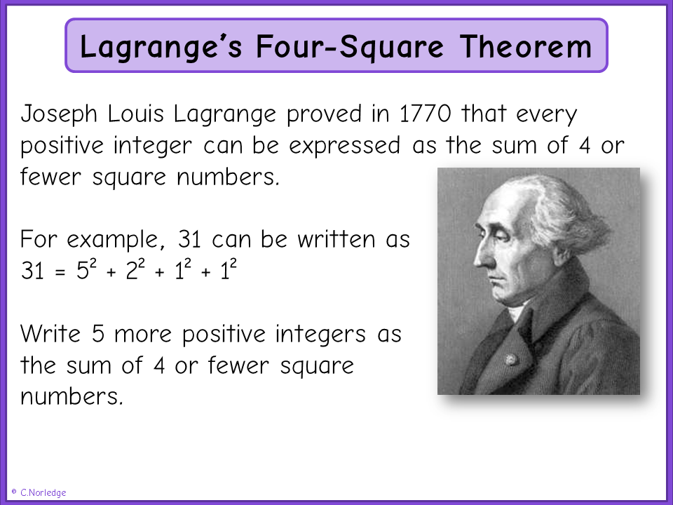 lagrange theorem 86 chapter3 groupsandpolyatheory 35 applications of lagrange's theorem before coming to our next remark, we need.